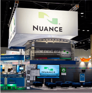 Nuance Booth at HIMSS