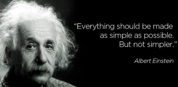Einstein Simplification